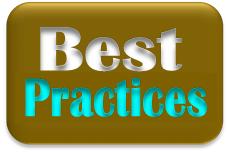 Best Practices stamp