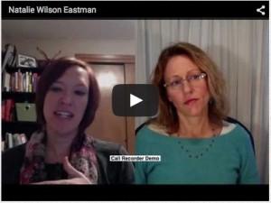 Suzanne Burden interviews Natalie EAstman re WLB